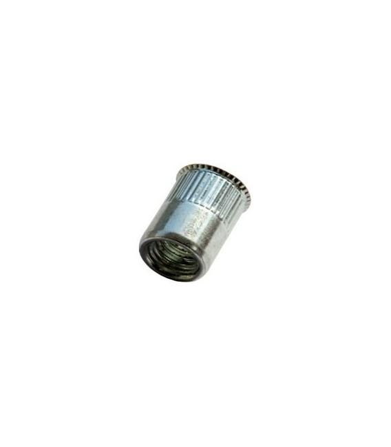 Заклепка M6*14 мм из нержавеющей стали с внутренней резьбой, уменьшенный бортик, с насечкой